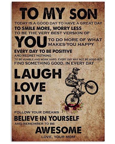 TO MY SON - LAUCH LOVE LIVE - BMX