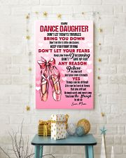 DANCE - DON'T LET TODAY'S TROUBLES POSTER 11x17 Poster lifestyle-holiday-poster-3
