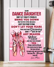DANCE - DON'T LET TODAY'S TROUBLES POSTER 11x17 Poster lifestyle-poster-4