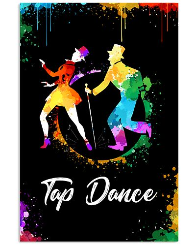 TAP DANCE ART COLOR POSTER