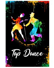 TAP DANCE ART COLOR POSTER 11x17 Poster front