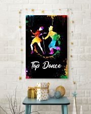 TAP DANCE ART COLOR POSTER 11x17 Poster lifestyle-holiday-poster-3