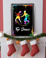 TAP DANCE ART COLOR POSTER 11x17 Poster lifestyle-holiday-poster-4