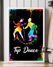 TAP DANCE ART COLOR POSTER 11x17 Poster lifestyle-poster-4
