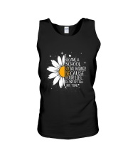 SCHOOL SOCIAL WORKER - I BECAME A POSTER Unisex Tank thumbnail