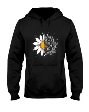 SCHOOL SOCIAL WORKER - I BECAME A POSTER Hooded Sweatshirt thumbnail