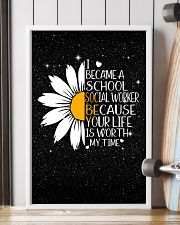SCHOOL SOCIAL WORKER - I BECAME A POSTER 11x17 Poster lifestyle-poster-4