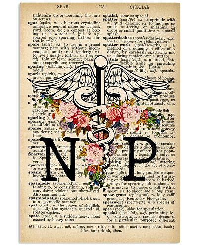 NP DICTIONARY VINTAGE POSTER