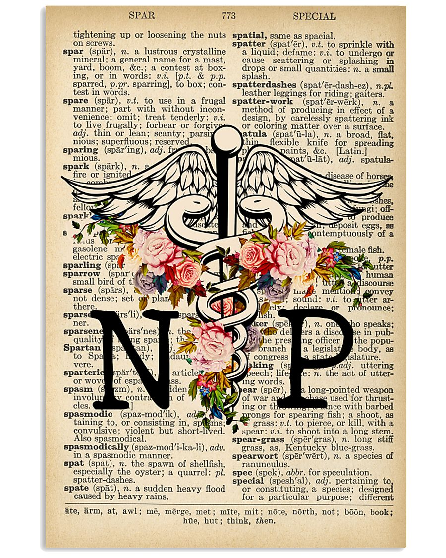 NP DICTIONARY VINTAGE POSTER 11x17 Poster