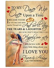 TO MY DANCE WIFE - ONCE UPON A TIME POSTER 11x17 Poster front