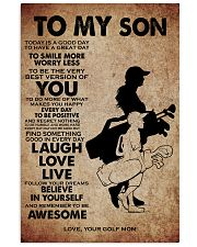 TO MY SON - YOUR GOLF MOM 11x17 Poster front