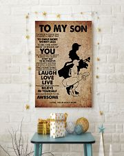 TO MY SON - YOUR GOLF MOM 11x17 Poster lifestyle-holiday-poster-3