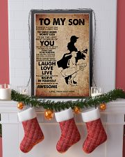 TO MY SON - YOUR GOLF MOM 11x17 Poster lifestyle-holiday-poster-4