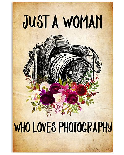 PHOTOGRAPHY - JUST A WOMAN POSTER
