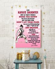 KARATE - DON'T LET TODAY'S TROUBLES POSTER 11x17 Poster lifestyle-holiday-poster-3