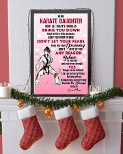 KARATE - DON'T LET TODAY'S TROUBLES POSTER 11x17 Poster lifestyle-holiday-poster-4