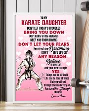 KARATE - DON'T LET TODAY'S TROUBLES POSTER 11x17 Poster lifestyle-poster-4