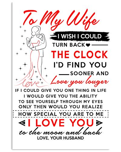 TO MY WIFE I WISH I COULD POSTER