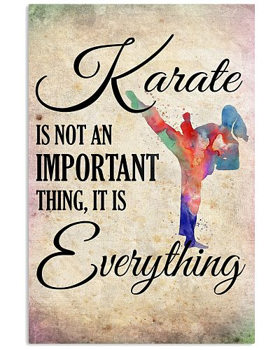 KARATE- EVERYTHING POSTER