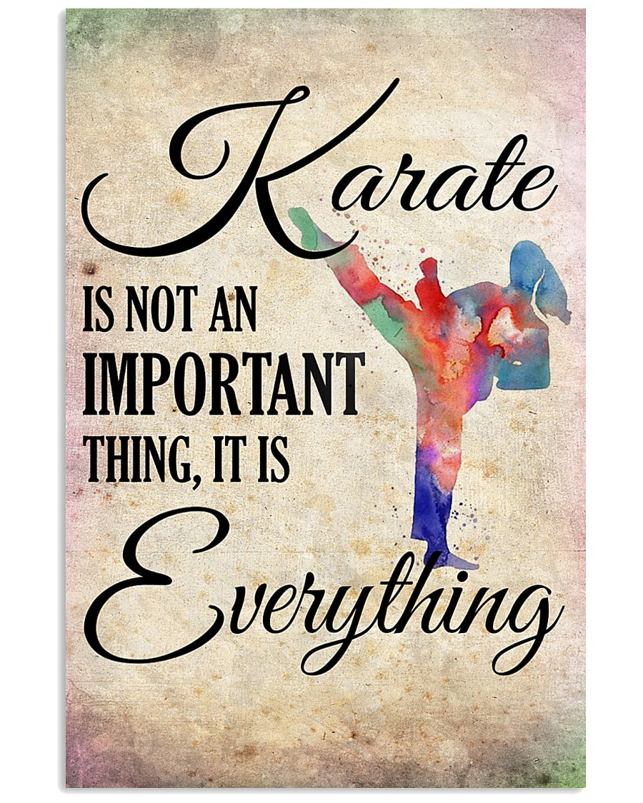 KARATE- EVERYTHING POSTER 11x17 Poster