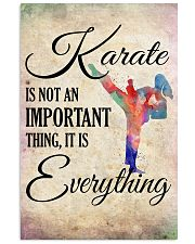 KARATE- EVERYTHING POSTER 11x17 Poster front