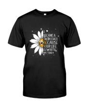 SWIM COACH - I BECAME A POSTER Classic T-Shirt thumbnail