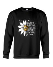 SWIM COACH - I BECAME A POSTER Crewneck Sweatshirt thumbnail