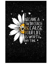 SWIM COACH - I BECAME A POSTER 11x17 Poster front