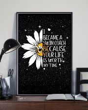 SWIM COACH - I BECAME A POSTER 11x17 Poster lifestyle-poster-2