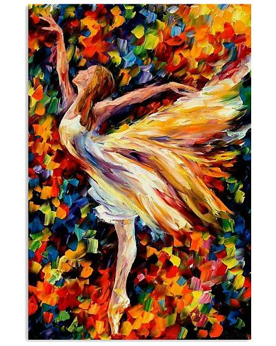 dance oil paint poster