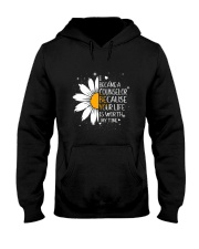 COUNSELOR- I BECAME A POSTER Hooded Sweatshirt thumbnail