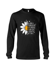 COUNSELOR- I BECAME A POSTER Long Sleeve Tee thumbnail