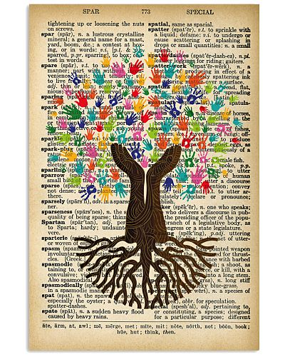 SOCIAL WORK DICTIONARY VINTAGE POSTER