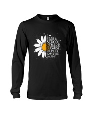 I BECAM A SCHOOL COUNSELOR Long Sleeve Tee thumbnail