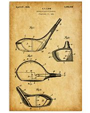 GOLF PATENT POSTER 11x17 Poster front