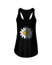 SCHOOL PSYCHOLOGIST- I BECAME A  POSTER Ladies Flowy Tank thumbnail