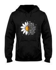 SCHOOL PSYCHOLOGIST- I BECAME A  POSTER Hooded Sweatshirt thumbnail