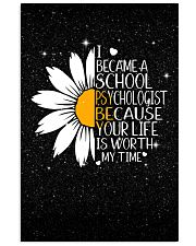 SCHOOL PSYCHOLOGIST- I BECAME A  POSTER 11x17 Poster front