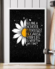 SCHOOL PSYCHOLOGIST- I BECAME A  POSTER 11x17 Poster lifestyle-poster-4
