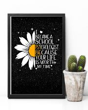 SCHOOL PSYCHOLOGIST- I BECAME A  POSTER 11x17 Poster lifestyle-poster-8