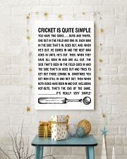 CRICKET IS QUITE SIMPLE POSTER 11x17 Poster lifestyle-holiday-poster-3