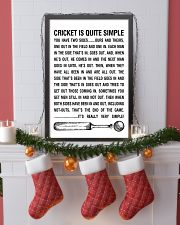 CRICKET IS QUITE SIMPLE POSTER 11x17 Poster lifestyle-holiday-poster-4