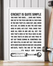 CRICKET IS QUITE SIMPLE POSTER 11x17 Poster lifestyle-poster-4