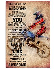 MOTOCROSS- TODAY IS A GOOD DAY POSTER 11x17 Poster front