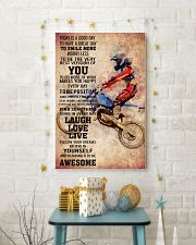 MOTOCROSS- TODAY IS A GOOD DAY POSTER 11x17 Poster lifestyle-holiday-poster-3