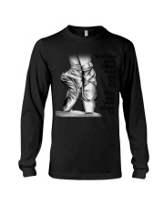 DANCE-WE CAN'T ALWAYS CHOOSE THE MUSIC POSTER Long Sleeve Tee thumbnail