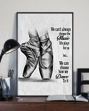 DANCE-WE CAN'T ALWAYS CHOOSE THE MUSIC POSTER 11x17 Poster lifestyle-poster-2