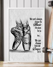 DANCE-WE CAN'T ALWAYS CHOOSE THE MUSIC POSTER 11x17 Poster lifestyle-poster-4