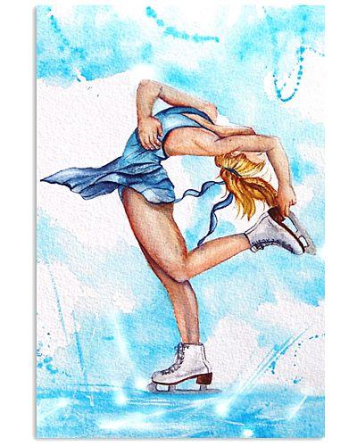 skating wall art poster