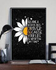 SCHOOL BUS DRIVER - I BECAME A POSTER 11x17 Poster lifestyle-poster-2